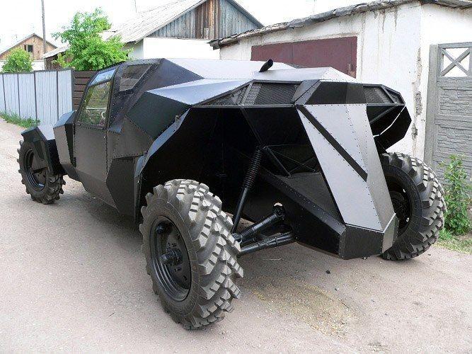 самодельные автомобили для охоты и рыбалке видео